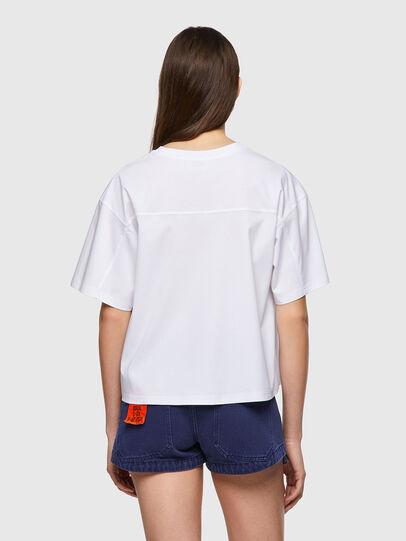 Diesel - T-BOWBOW, Blanc - T-Shirts - Image 2