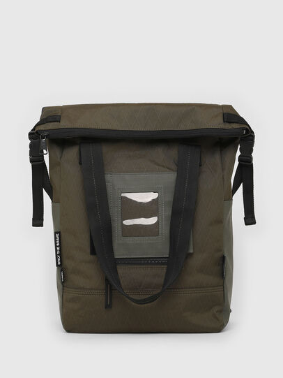 Diesel - SHIGA, Green Camouflage - Shopping and Shoulder Bags - Image 1
