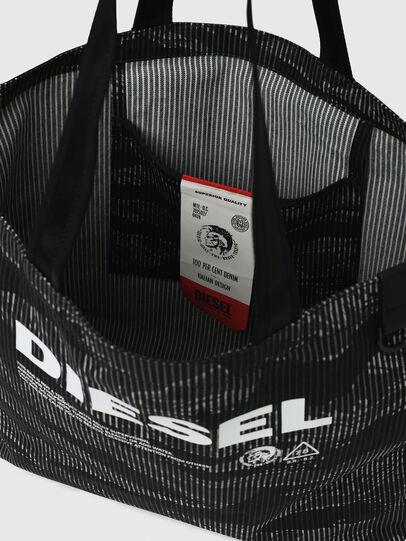 Diesel - D-THISBAG SHOP M, Schwarz - Shopper und Schultertaschen - Image 7