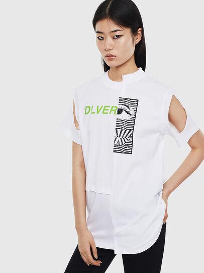 Diesel - T-GOMEZ, Weiß - T-Shirts - Image 1