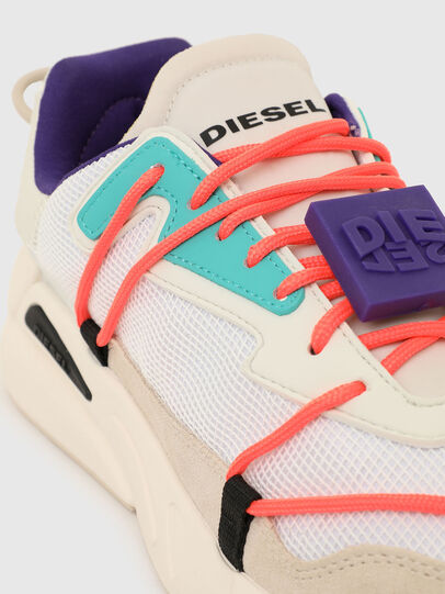Diesel - S-SERENDIPITY LC EVO, Bianco/Rosa - Sneakers - Image 4