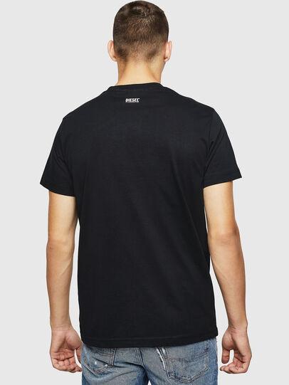 Diesel - T-DIEGO-B12, Schwarz - T-Shirts - Image 2