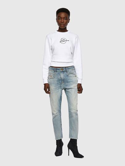 Diesel - Fayza 09A04, Blu Chiaro - Jeans - Image 5
