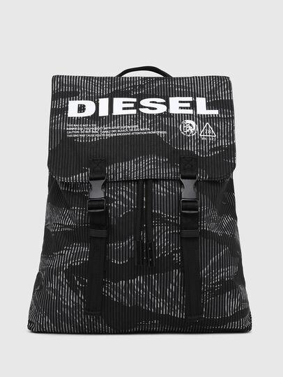 Diesel - VOLPAGO BACK, Schwarz - Rucksäcke - Image 1