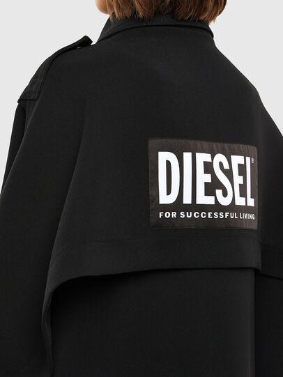 Diesel - W-TILLER, Schwarz - Winterjacken - Image 5