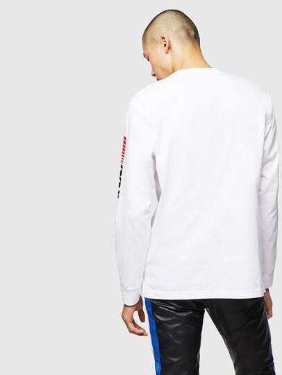 Diesel - ASTARS-T-JUST-LONG, Weiß - T-Shirts - Image 2