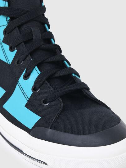 Diesel - S-ASTICO MID CUT, Nero/Blu - Sneakers - Image 6