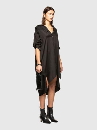 Diesel - D-NIA, Noir - Robes - Image 6