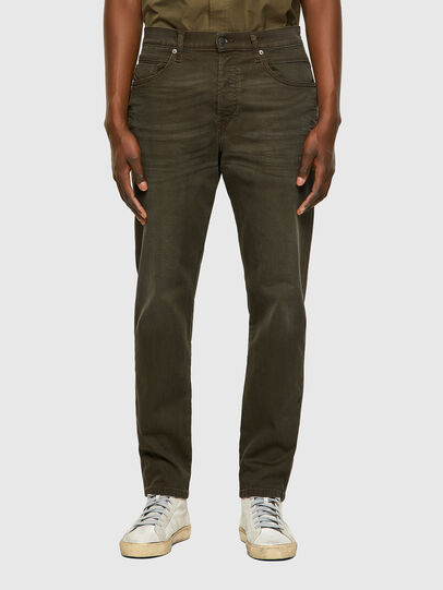 Diesel - D-Fining-Chino 0699P, Verde Militare - Jeans - Image 1