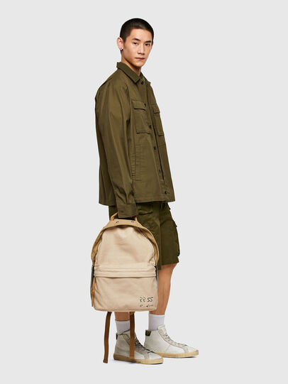 Diesel - DHORIAN LM, Beige - Backpacks - Image 6