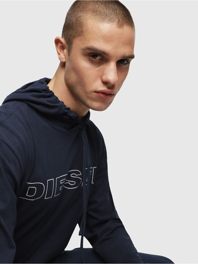 Diesel - UMLT-JIMMY, Mitternachtsblau - T-Shirts - Image 3