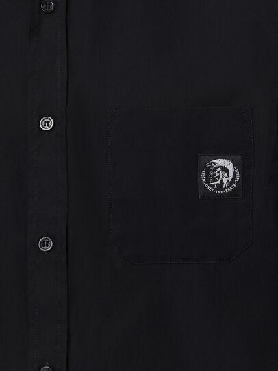Diesel - S-BILL-POCKET, Noir - Chemises - Image 3