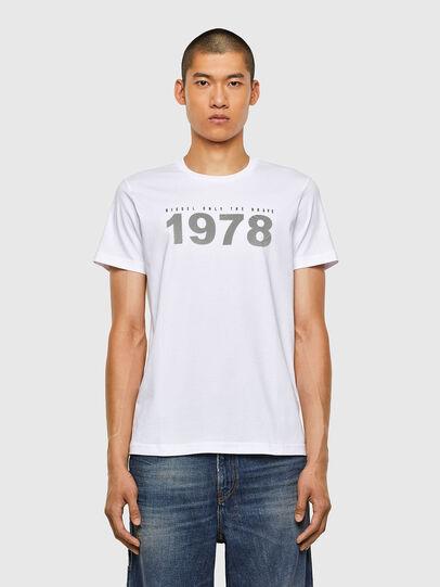 Diesel - T-DIEGOS-N33, Weiß - T-Shirts - Image 1