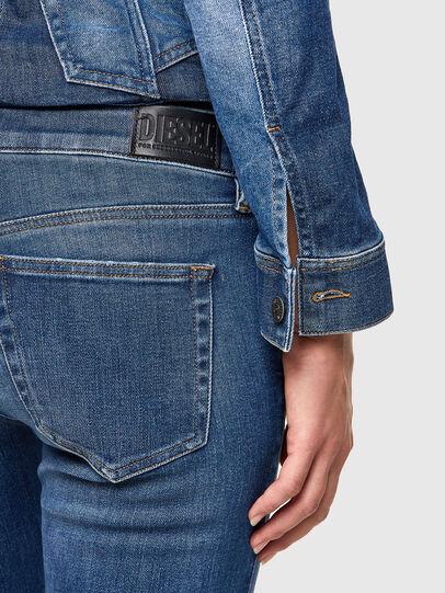 Diesel - Slandy Low 009PU, Bleu moyen - Jeans - Image 5
