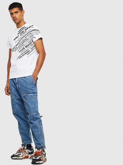 Diesel - T-DIEGO-S3, Weiß - T-Shirts - Image 4