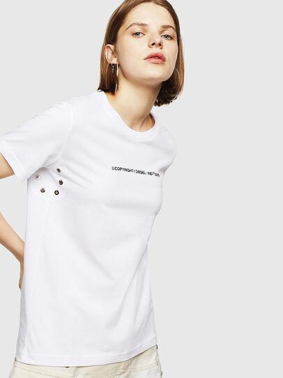 Diesel - T-SILY-WR, Weiß - T-Shirts - Image 1