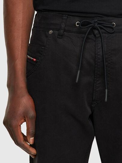 Diesel - Krooley JoggJeans® 069NC, Noir/Gris foncé - Jeans - Image 4
