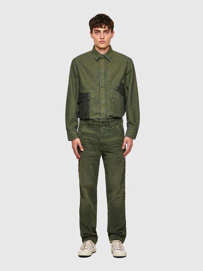 Diesel - D-Azerr JoggJeans® 069WH, Verde Militare - Jeans - Image 6