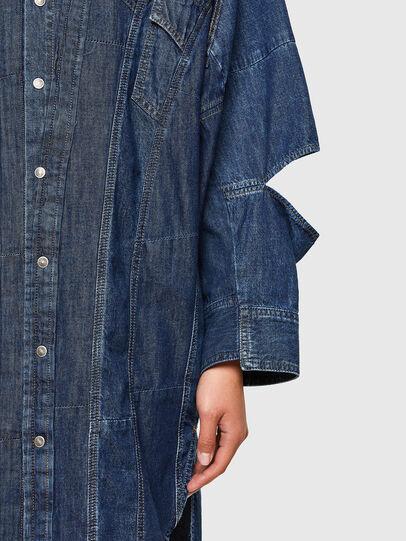 Diesel - CL-DE-BLIV, Bleu Foncé - Robes - Image 4