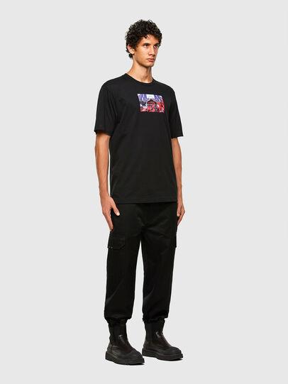 Diesel - T-TUBOLAR-N2, Noir - T-Shirts - Image 5