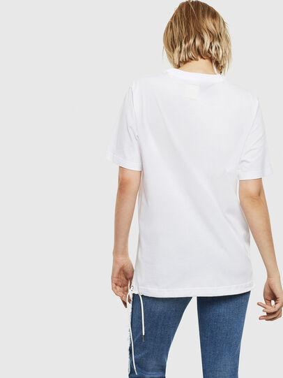 Diesel - T-HUSTY, Weiß - T-Shirts - Image 5