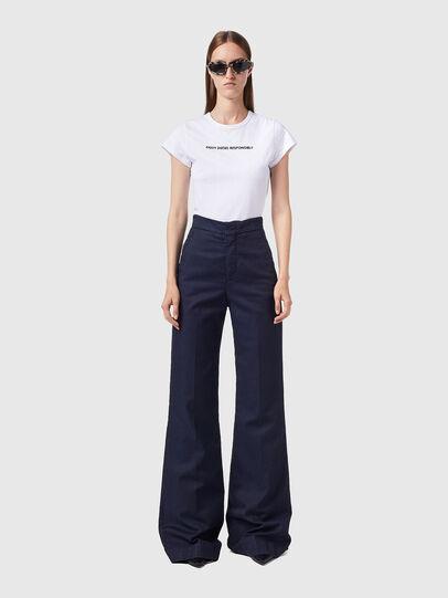 Diesel - D-Ebbey JoggJeans® 0CEAT, Blu Scuro - Jeans - Image 5
