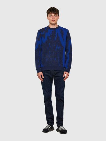 Diesel - K-TENNESSEE, Blue - Knitwear - Image 4
