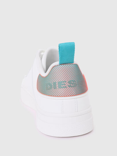 Diesel - S-CLEVER LOW LACE W, Weiss/Blau - Sneakers - Image 4