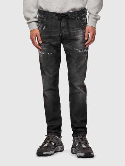 Diesel - Krooley JoggJeans® 09B53, Black/Dark grey - Jeans - Image 1