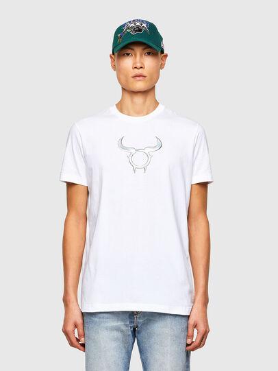 Diesel - CL-T-DIEGOS-O2, Blanc - T-Shirts - Image 1