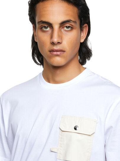 Diesel - T-JUSMER, Weiß - T-Shirts - Image 3