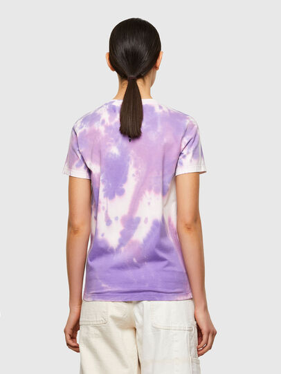 Diesel - T-SILY-A12, Lilas - T-Shirts - Image 2