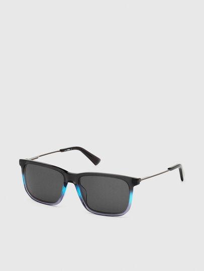 Diesel - DL0309, Schwarz/Blau - Sonnenbrille - Image 2