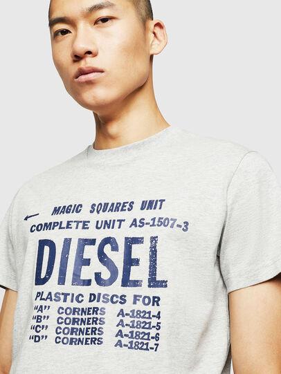 Diesel - T-DIEGO-B6, Hellgrau - T-Shirts - Image 3