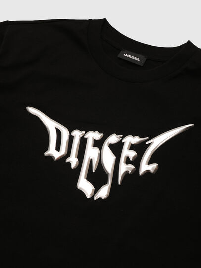 Diesel - TBOWLY, Nero - T-shirts e Tops - Image 3