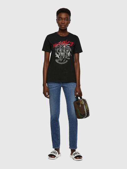 Diesel - T-SILY-B2, Noir - T-Shirts - Image 4