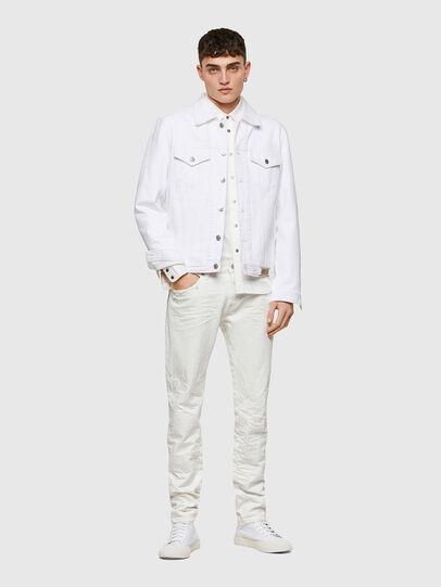 Diesel - D-Kras 0HBAJ, Blanc - Jeans - Image 6