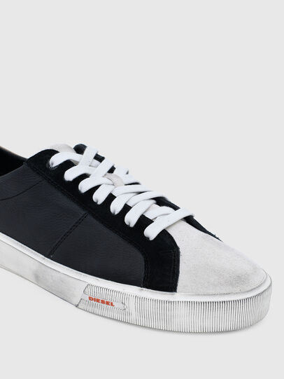 Diesel - S-MYDORI LC, Schwarz/Beige - Sneakers - Image 5