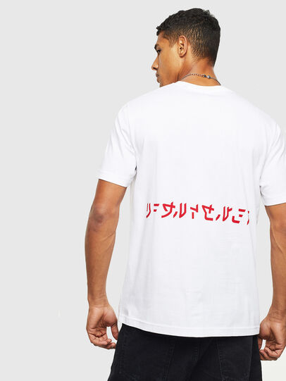 Diesel - T-JUST-T22, Weiß - T-Shirts - Image 2
