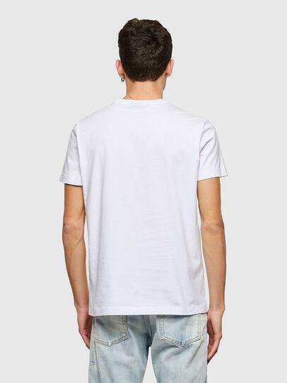 Diesel - T-DIEGOS-LAB, Bianco - T-Shirts - Image 2