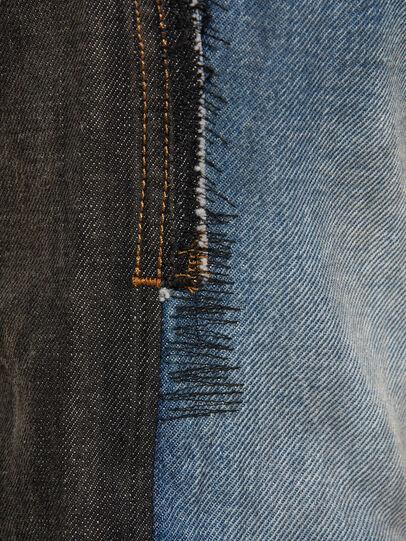 Diesel - D-Kras 009EA, Schwarz/Dunkelgrau - Jeans - Image 4