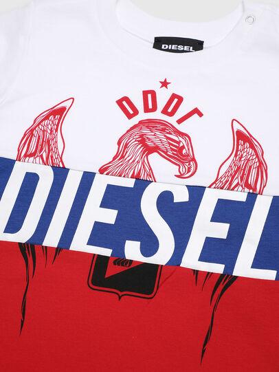 Diesel - TRICKYB, Weiß/Rot/Blau - T-Shirts und Tops - Image 3