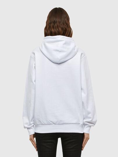 Diesel - S-GIRK-HOOD-N1, Weiß - Sweatshirts - Image 4