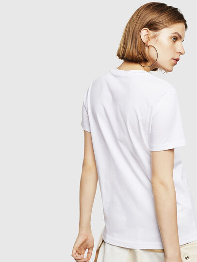Diesel - T-SILY-WR, Weiß - T-Shirts - Image 2