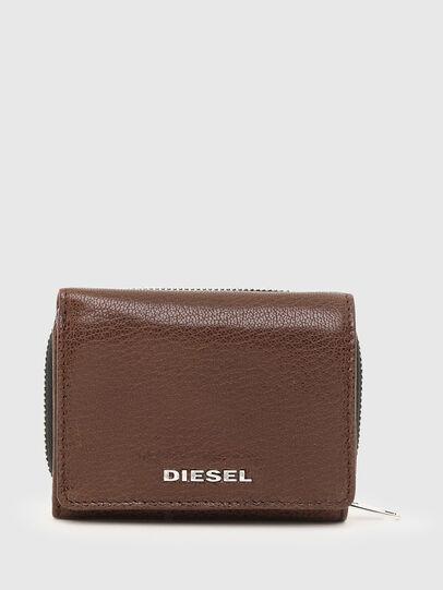 Diesel - SPEJAP, Marrone - Portafogli Piccoli - Image 1