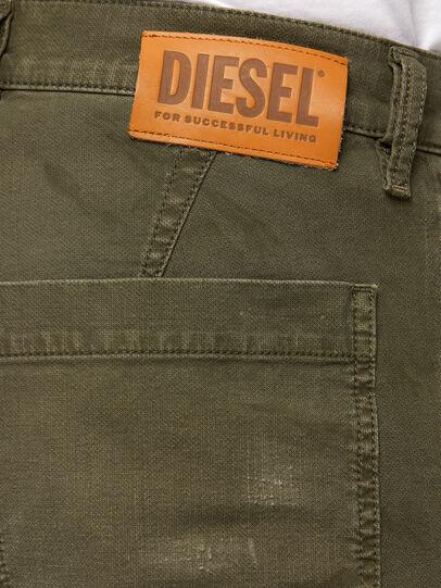 Diesel - D-Azzer JoggJeans 069NF, Armeegrün - Jeans - Image 4