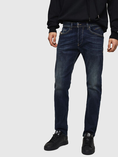 Diesel - Belther 0814W, Dunkelblau - Jeans - Image 1