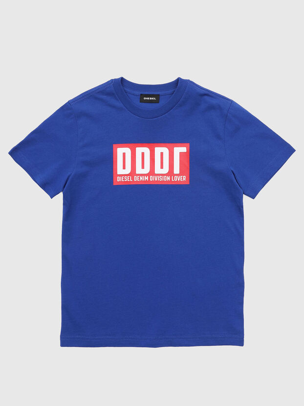 TJUSTA9, Blau - T-Shirts und Tops