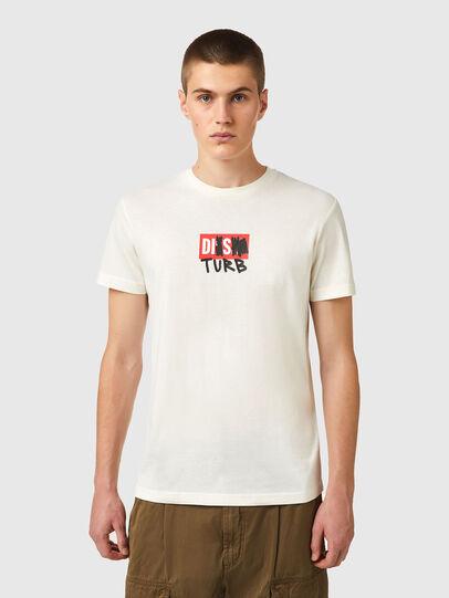 Diesel - T-DIEGOS-B10, Blanc - T-Shirts - Image 1