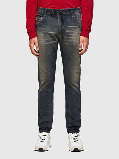 Diesel - KROOLEY JoggJeans® 069QE, Dunkelblau - Jeans - Image 1